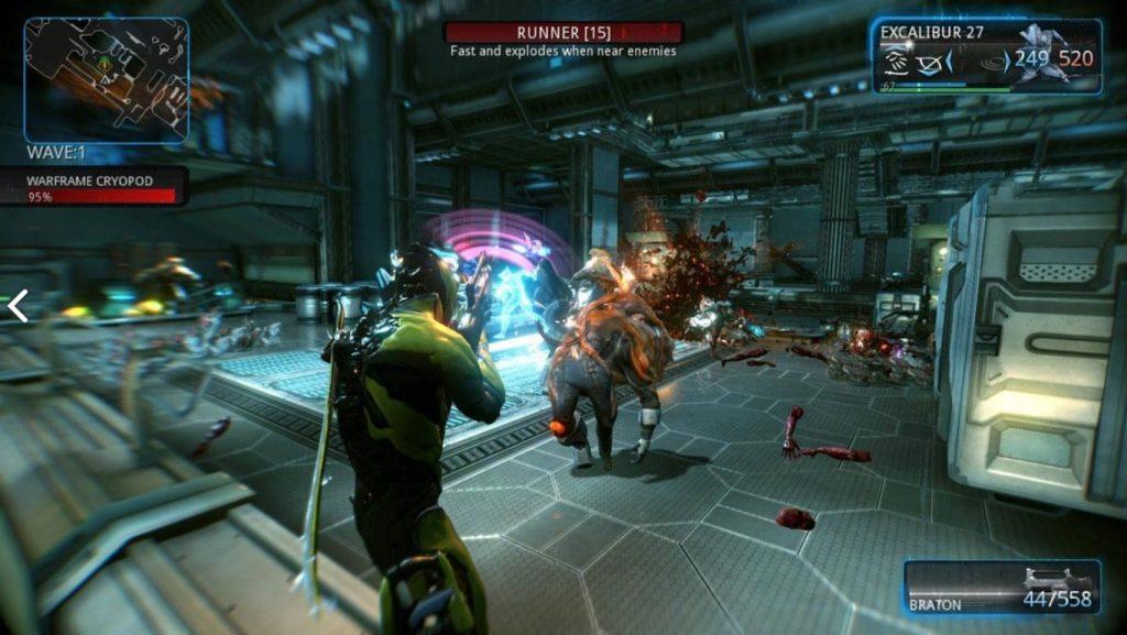 Jogos Grátis para PC - Gameplay de Warframe