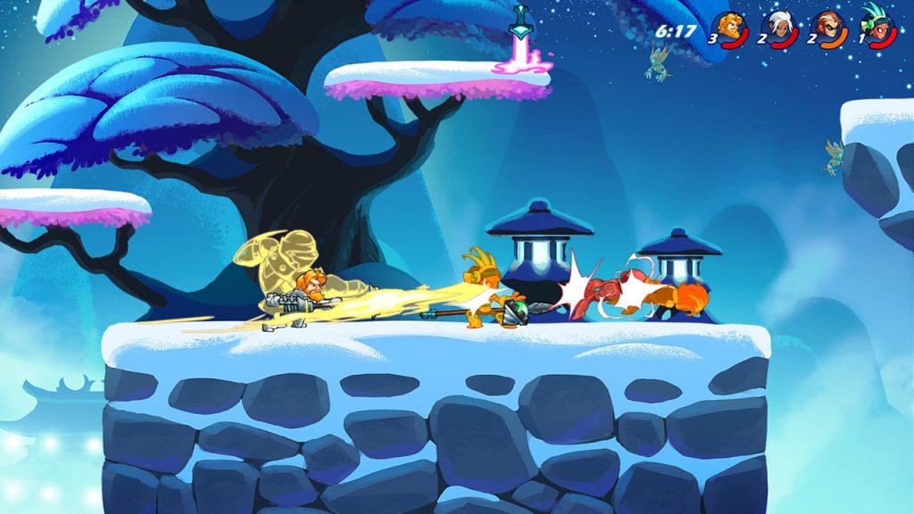 Jogos Grátis para PC - Gameplay de Brawlhalla
