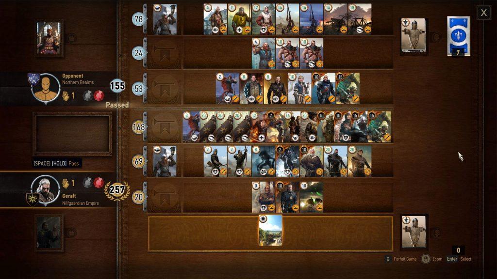 Jogos Grátis para PC - Gameplay de Gwent