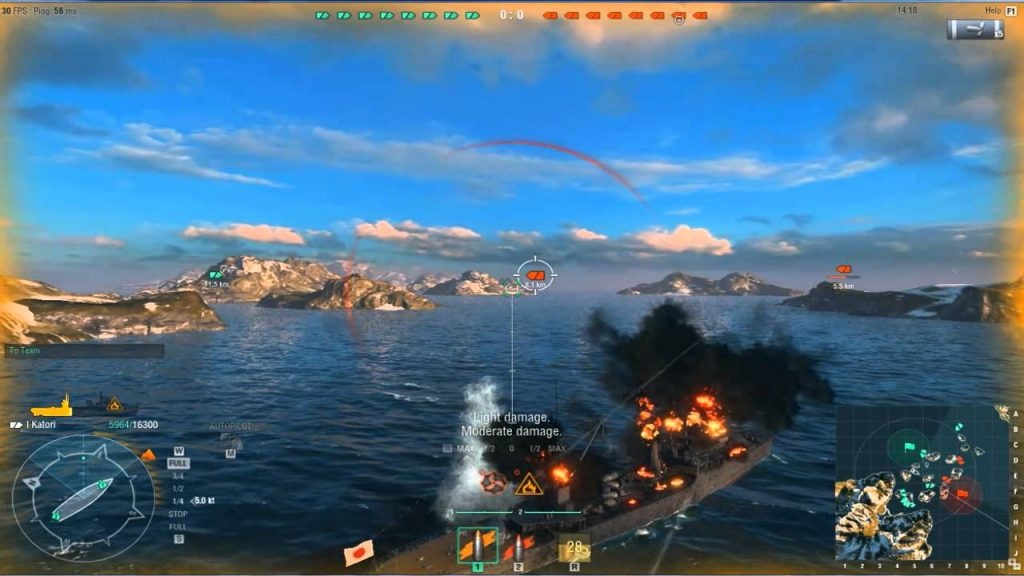 Jogos Grátis para PC - Gameplay de World of Warships