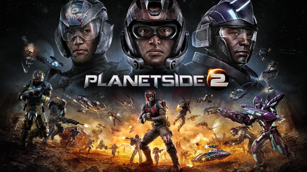 Jogos Grátis para PC - PlanetSide 2