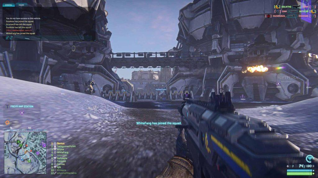 Jogos Grátis para PC - Gameplay de PlanetSide 2