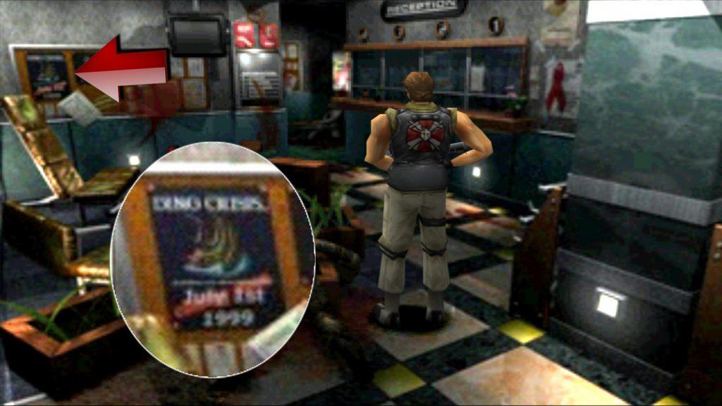 Easter Eggs de Resident Evil