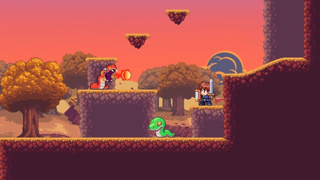 Jogos de Plataforma - A Lenda do Herói