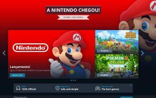 Nintendo na Nuuvem lista de jogos