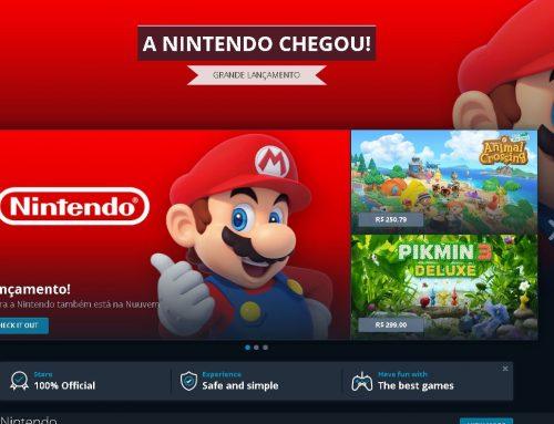 Nintendo na Nuuvem e a Lista completa de jogos no Lançamento