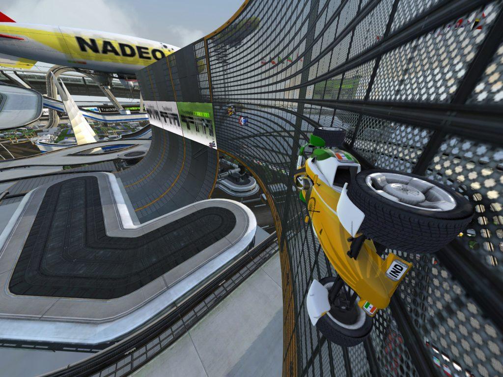 Jogos Grátis para PC - Gameplay de Track Mania Nations Forever