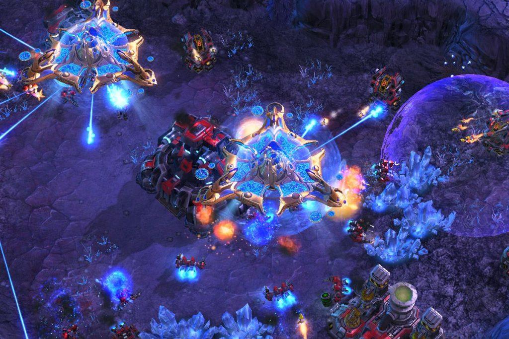 Jogos Grátis para PC - Gameplay de StarCraft 2