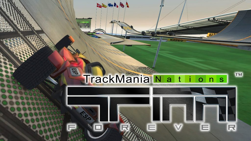 Jogos Grátis para PC - Track Mania Nations Forever