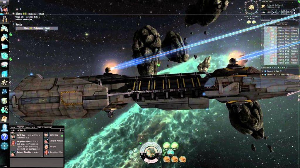 Jogos Grátis para PC - Gameplay de EVE Online