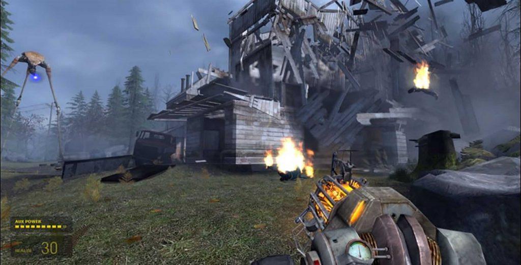 Jogos de Tiro - Half-life 2