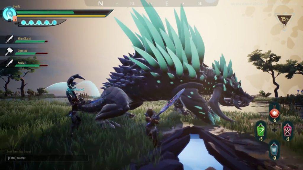 Jogos Grátis para PC - Gameplay de Dauntless