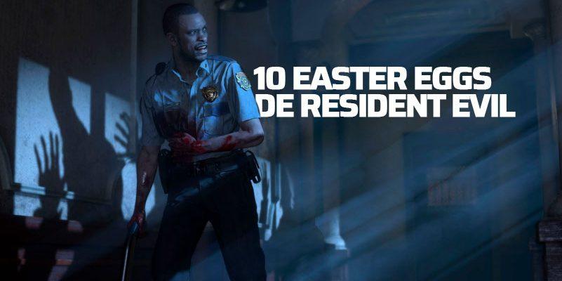 Resident Evil Easter Eggs