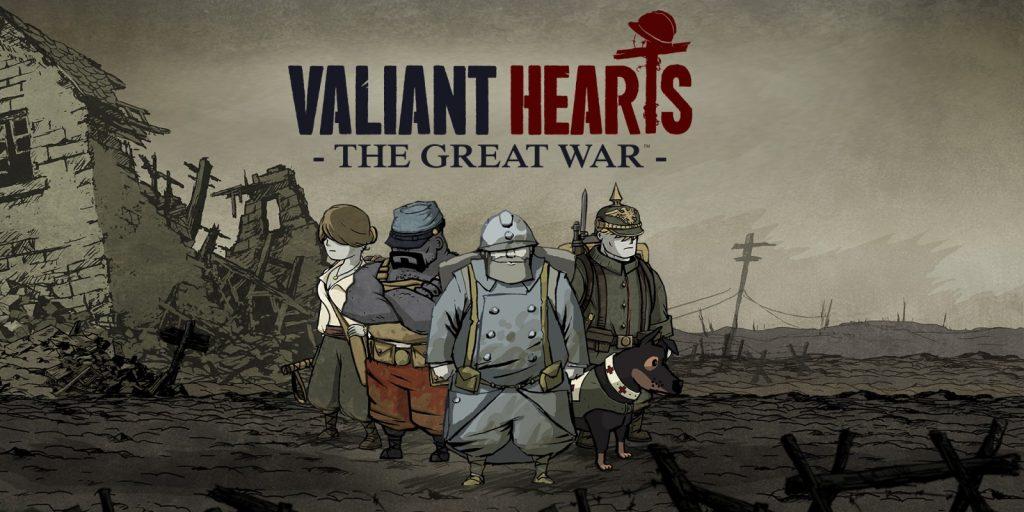 Jogos de Plataforma - Valiant Hearts
