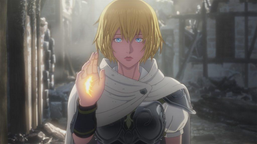 Imagem do anime de Dragon's Dogma