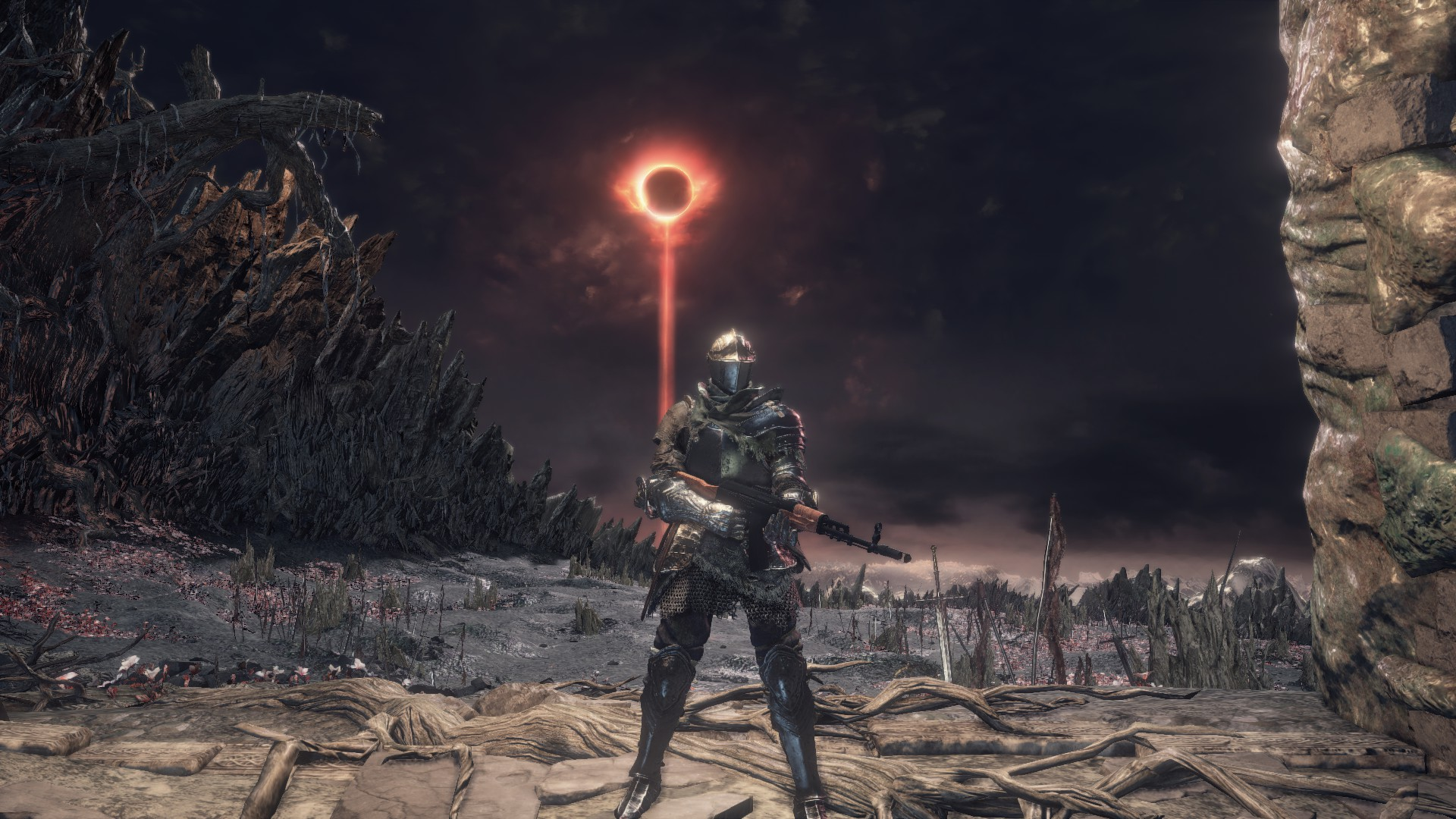 Mod de Dark Souls 3 coloca rifles de assalto no game.
