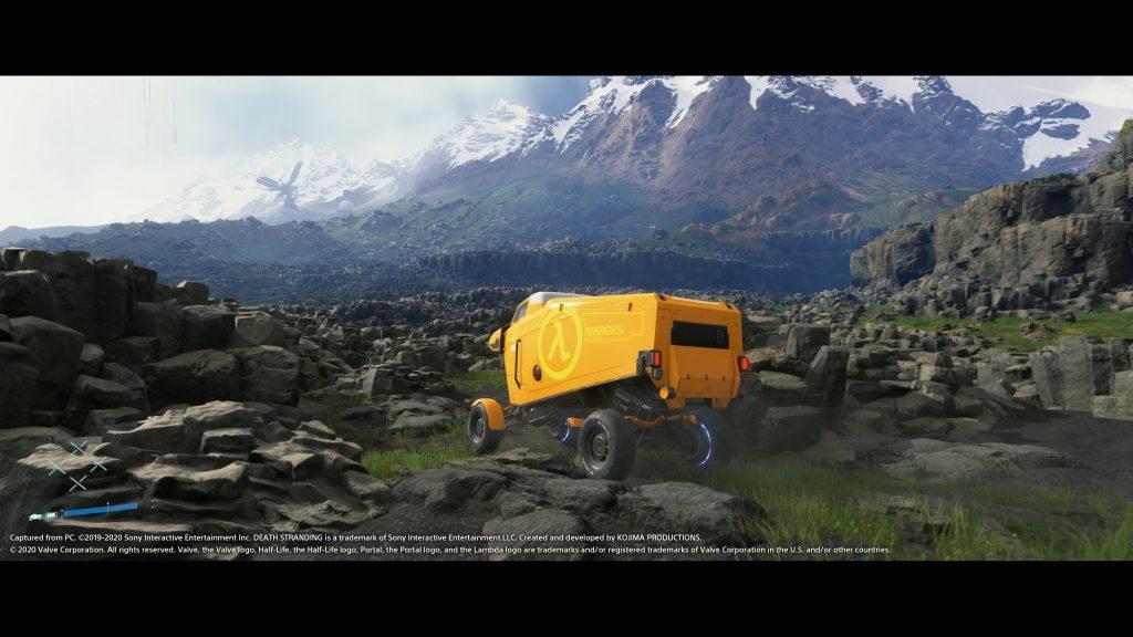 Death Stranding para PC tem conteúdo extra de Half Life
