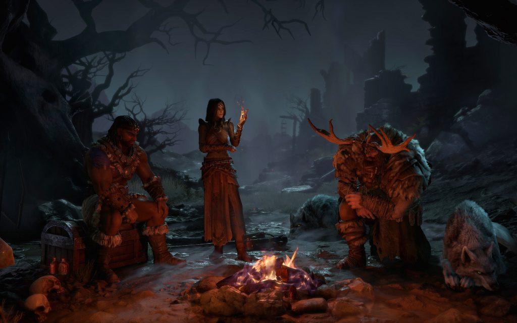 Diablo 4 já tem 3 classes de personagem reveladas: Bárbaro, Feiticeira e Druida.