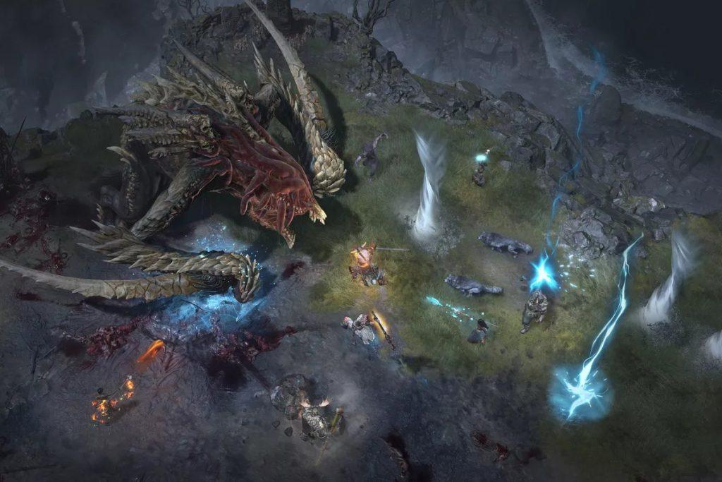 Diablo 4 terá eventos multiplayer para vários jogadores em seu mundo aberto.