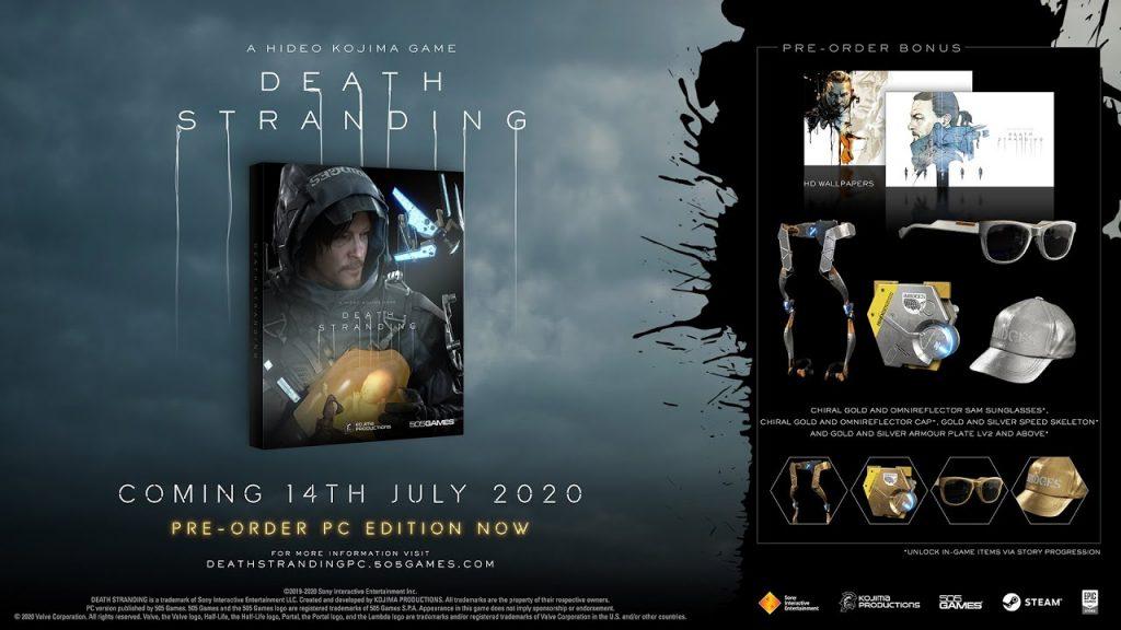 Confira os bônus de pré-venda de Death Stranding na Nuuvem.