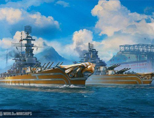 World of Warships recebe novos navios dos EUA