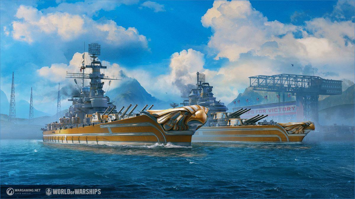 World of Warships recebe novos navios de guerra dos EUA