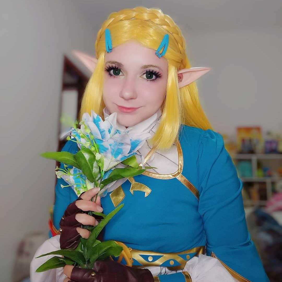 Top Cosplay 3 - Cosplay Gamer de Princesa Zelda por Naoko Cosplay