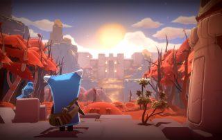 Gameplay do jogo The Last Campfire enviado pelo canal do youtube The Game of Thomas